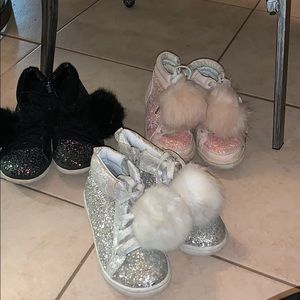 3 pair of shoes for one price